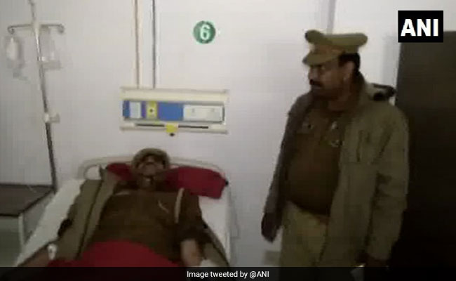 UP Cop Who Shouted 'Thain Thain' To Scare Accused Injured In Encounter