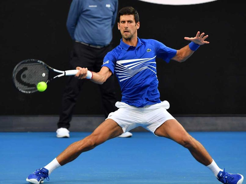 Novak Djokovic Begins Seventh Australian Open Title Bid With Romp