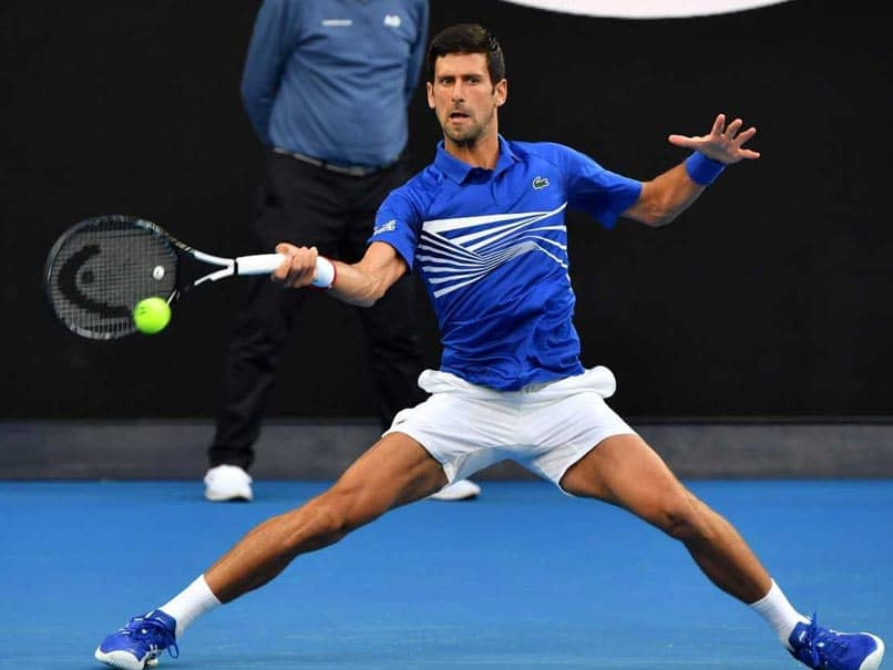 Novak Djokovic Begins Seventh Australian Open Title Bid With Romp