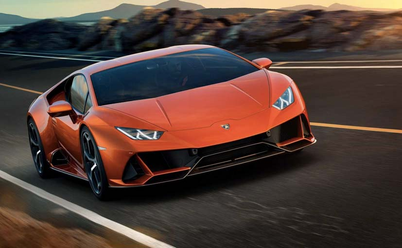 Lamborghini Huracan Evo India Launch Highlights Images
