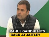 Video : Arun Jaitley Said That Rafale Jet Costs Rs. 1,600 Crore, Says Rahul Gandhi