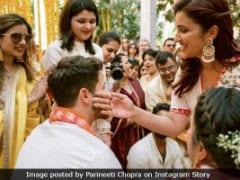 परिणीति चोपड़ा ने शेयर की प्रियंका-निक की शादी की फोटो, जीजाजी को यूं लगाई हल्दी