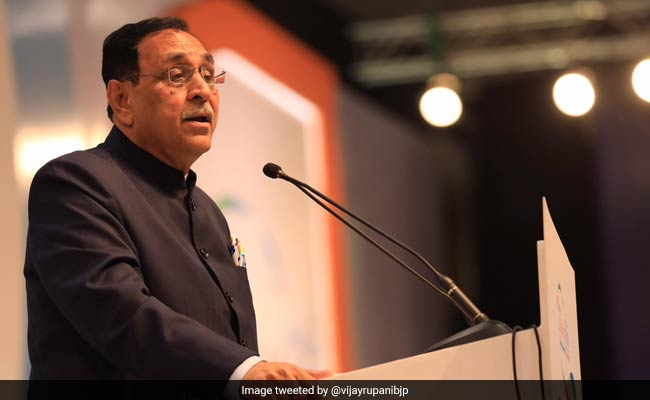 'If Congress Wins By Mistake, Pak Will Celebrate Diwali': Vijay Rupani