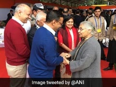 This Sheila Dikshit, Arvind Kejriwal Moment Fueled Much Speculation