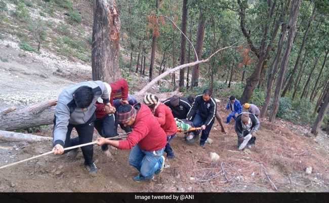 At Least 8 Killed After Van Falls Into Gorge In Uttarakhand