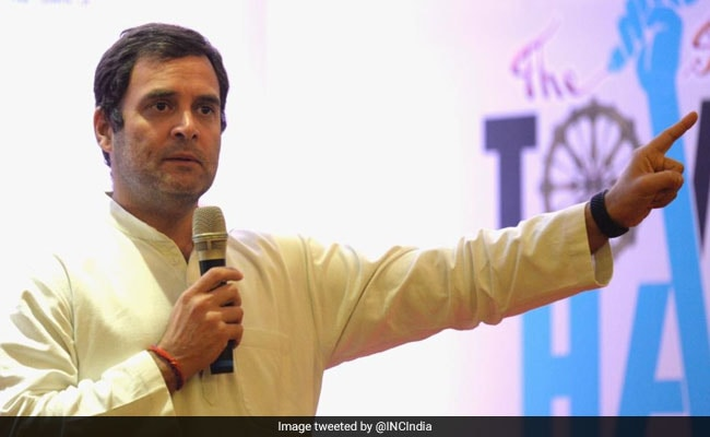 Rahul Gandhi Promises Universal Basic Income For Poor: 10 Points