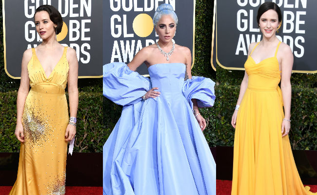 Golden Globes 2019: Lady Gaga, Rachel Brosnahan, Claire Foy Sparkle On The Red Carpet