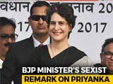 "Video : ""Only Beautiful"": Bihar Minister's Sexist Remark On Priyanka Gandhi Vadra"