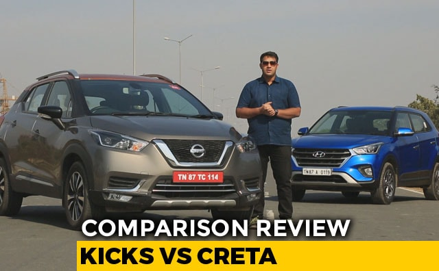 Comparison Review: Nissan Kicks vs Hyundai Creta