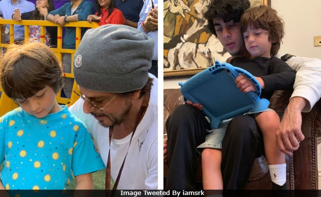 Shah Rukh Khans Playboys Mantra Explained With Pic Of Sons