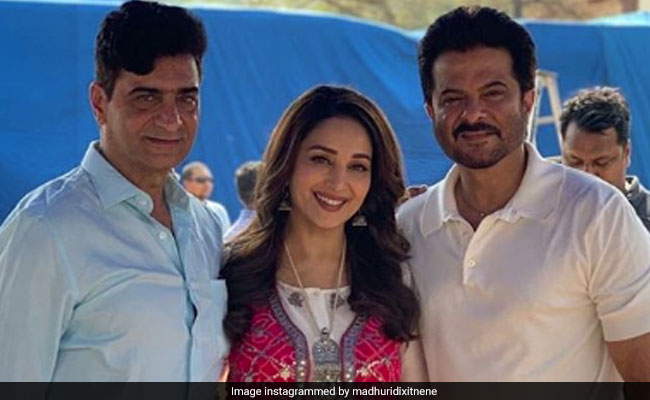 Madhuri Dixit And Anil Kapoor Wrap Total Dhamaal, Share Photos From Last Day On Sets