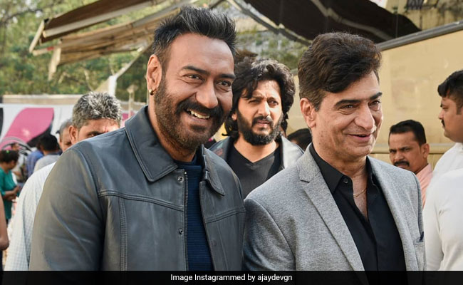 Ajay Devgn Trolls Total Dhamaal Co-Star Riteish Deshmukh