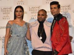 Lakme Fashion Week 2019: Tabu Burns Up Gaurav Gupta's Ramp; Diana Penty And Pooja Hegde In The Front Row