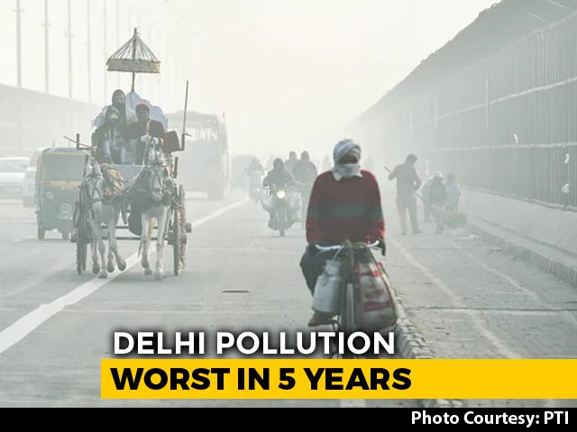 Video : Delhi Pollution Worst In December 2018 In Last Five Years