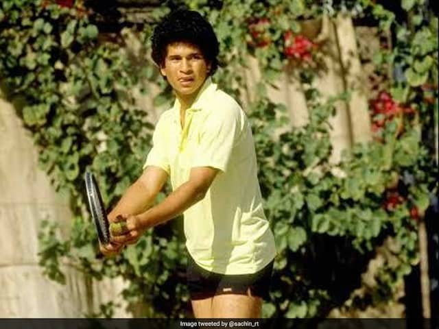 Australian Open Fever Grips Sachin Tendulkar, Cricket Great Posts Throwback Tennis Pictures