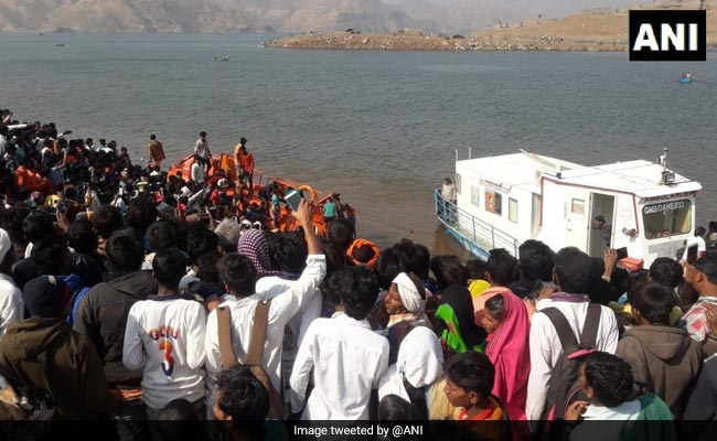 Narmada Boat Capsize Death Toll Rises To 7, Owner Booked
