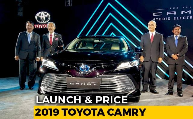 Video : 2019 Toyota Camry Hybrid Launch