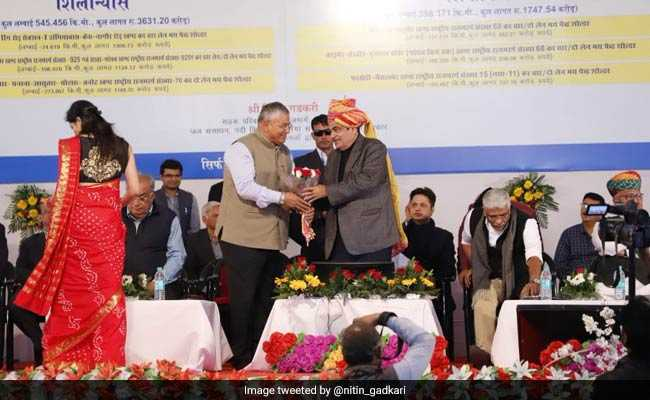 Nitin Gadkari Inaugurates Road Projects Worth Rs 6,000 Crore In Rajasthan