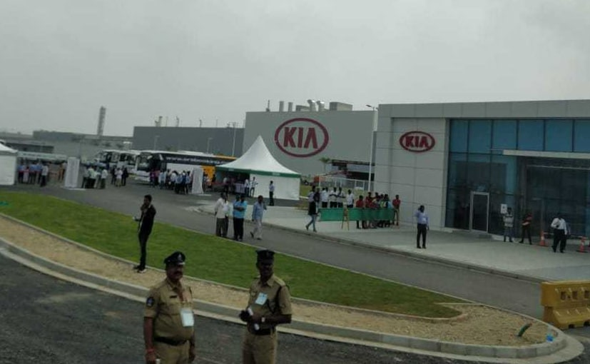 Kia Motors will invest close to Rs. 408 crore at its plant in Andhra Pradesh