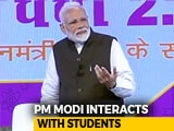 "Video : Stress Of Exams? PM Modi Advises Students In ""Pariksha Par Charcha"""