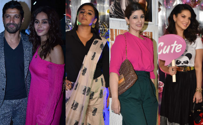 Farhan-Shibani, Vidya Balan, Twinkle Khanna And Sunny Leone Are Scene Stealers At Dabboo Ratnani's Calendar Launch