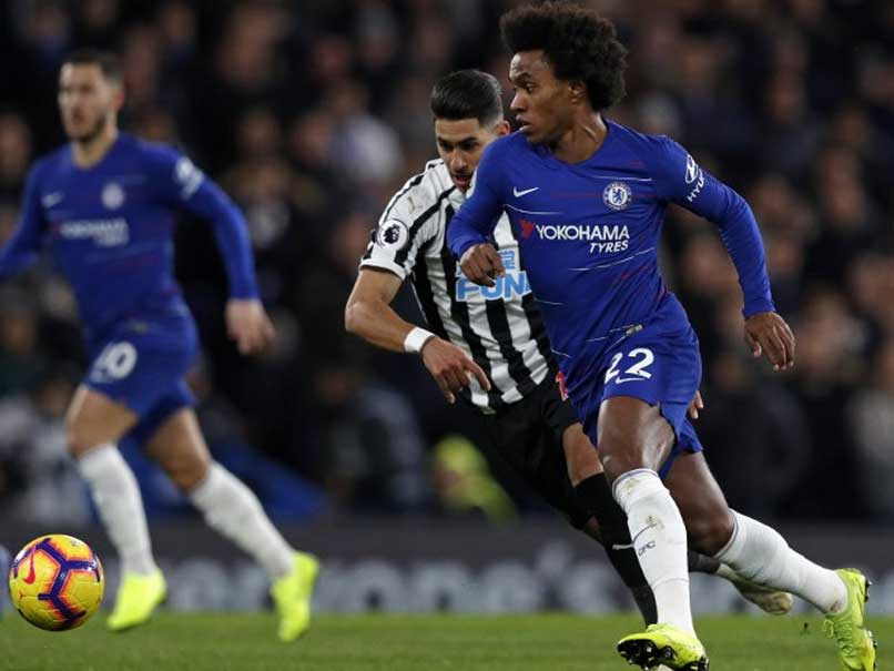 Premier League: Willian Gem Sinks Newcastle United As Chelsea Cement Fourth Place
