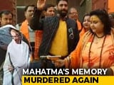 "Video : Hindu Mahasabha ""Recreates"" Mahatma Gandhi's Assassination In UP"