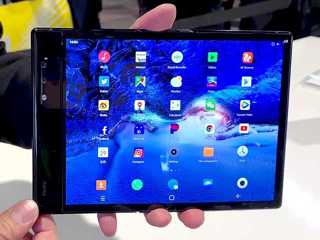 Video : Royole FlexPai Foldable Smartphone First Look