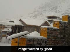 Uttarakhand Receives Heavy Snowfall, Intense Cold Wave In Plains