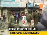 Video : Explosion At Srinagar's High-Security Lal Chowk Damages Shops, Vehicles