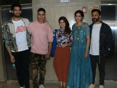 Sonam Kapoor's <i>Ek Ladki Ko Dekha Toh Aisa Laga</i> Is 'Brilliant,' Akshay Kumar's Review. Watches Film With Twinkle Khanna, Anand Ahuja