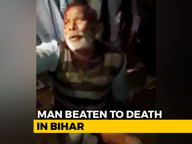 Video : Man, 55, Beaten To Death By Mob Over Alleged Cattle Theft In Bihar's Araria