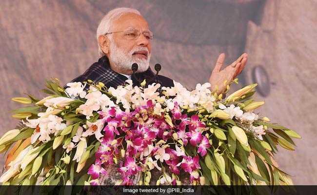 """Chor"" Wants ""Chowkidar"" Out Of The Way: PM's Dig At Rahul Gandhi"