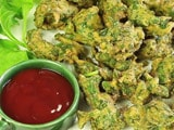 Video : How To Make Palak Pakoda At Home