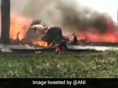 कुशीनगर: वायुसेना का जगुआर विमान हुआ क्रैश, पायलट सुरक्षित