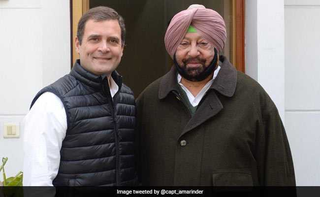 After Meeting Rahul Gandhi, Amarinder Singh Rules Out Alliance With AAP