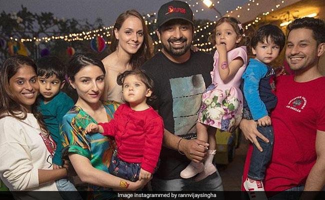 A Million Dollar Pic From Rannvijay Singha's Daughter's Birthday Party Featuring 'Boss Babies' Taimur, Inaaya And Others