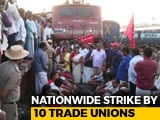 Video: Train Services Hit, Roads Blocked As 2-Day Nationwide Strike Kicks In
