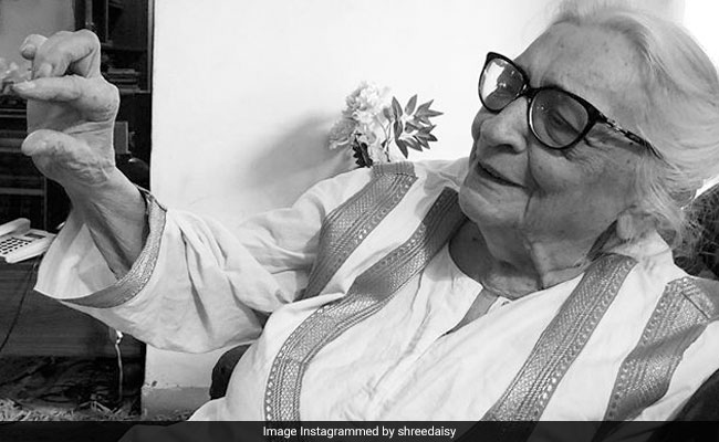 Krishna Sobti, Master Of Prose Known For Her Bold Writing, Dies At 93