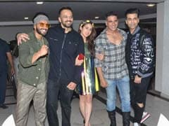 As <I>Simmba</I> Scores Big At The Box Office, Ranveer Singh, Rohit Shetty, Sara Ali Khan Celebrate Success With Deepika Padukone, Kajol, Ajay Devgn, Akshay Kumar And Others