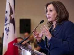 US Congress Must Take Steps Towards Impeaching Trump: Kamala Harris