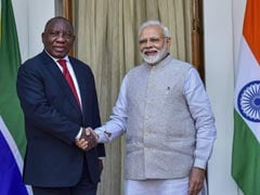 India, South Africa Seal 3-Year Strategic Programme To Boost Cooperation