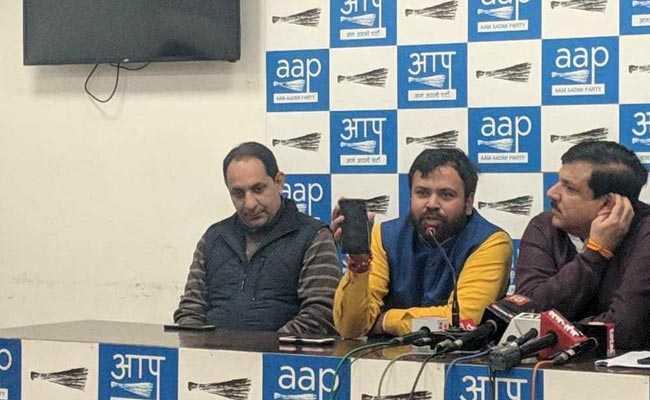 दिल्ली में कांग्रेस को वोट देकर अपना मत खराब न करें : आम आदमी पार्टी
