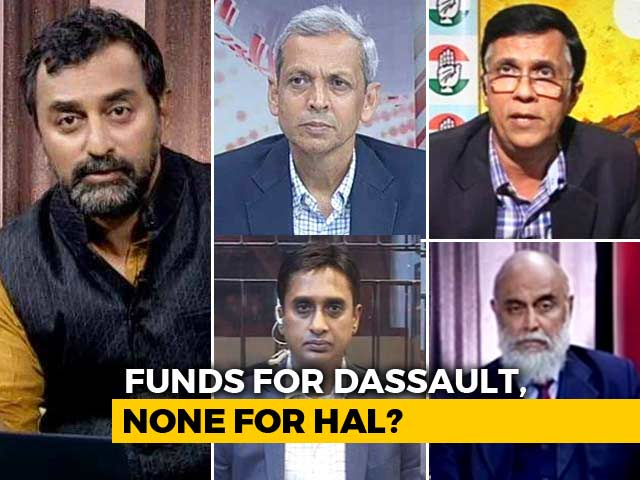 Video : Rafale Row: Who's To Blame For Crisis At HAL?