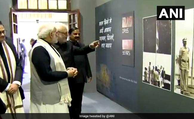 PM Inaugurates Subhas Chandra Bose Museum At Red Fort: Highlights