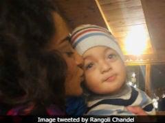Kangana Ranaut And Her Nephew Prithvi Raj Are 'Inseparable,' Per Rangoli Chandel