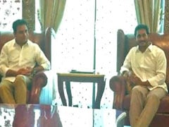 "Jagan Reddy Meets KCR's Son, Says ""Great Friends"" Of Andhra Pradesh"