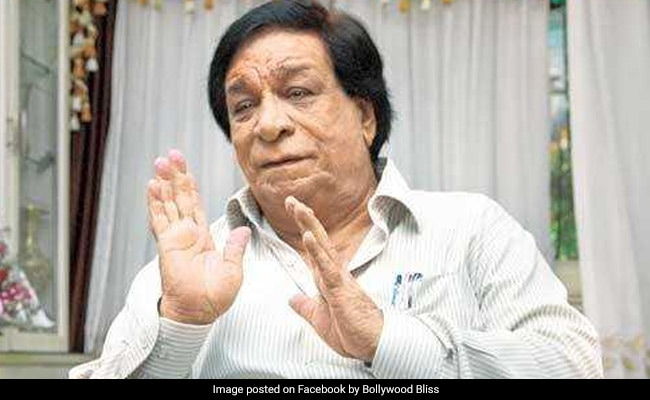 Kader Khan, Veteran Actor, Dies At 81 After Long Illness