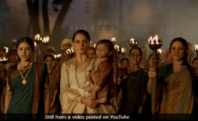 Kangana Ranaut's 'Manikarnika: The Queen Of Jhansi' is a visual extravaganza