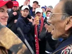 "In Tense Scene, Boys In ""Make America Great"" Hats Boo At Native American"